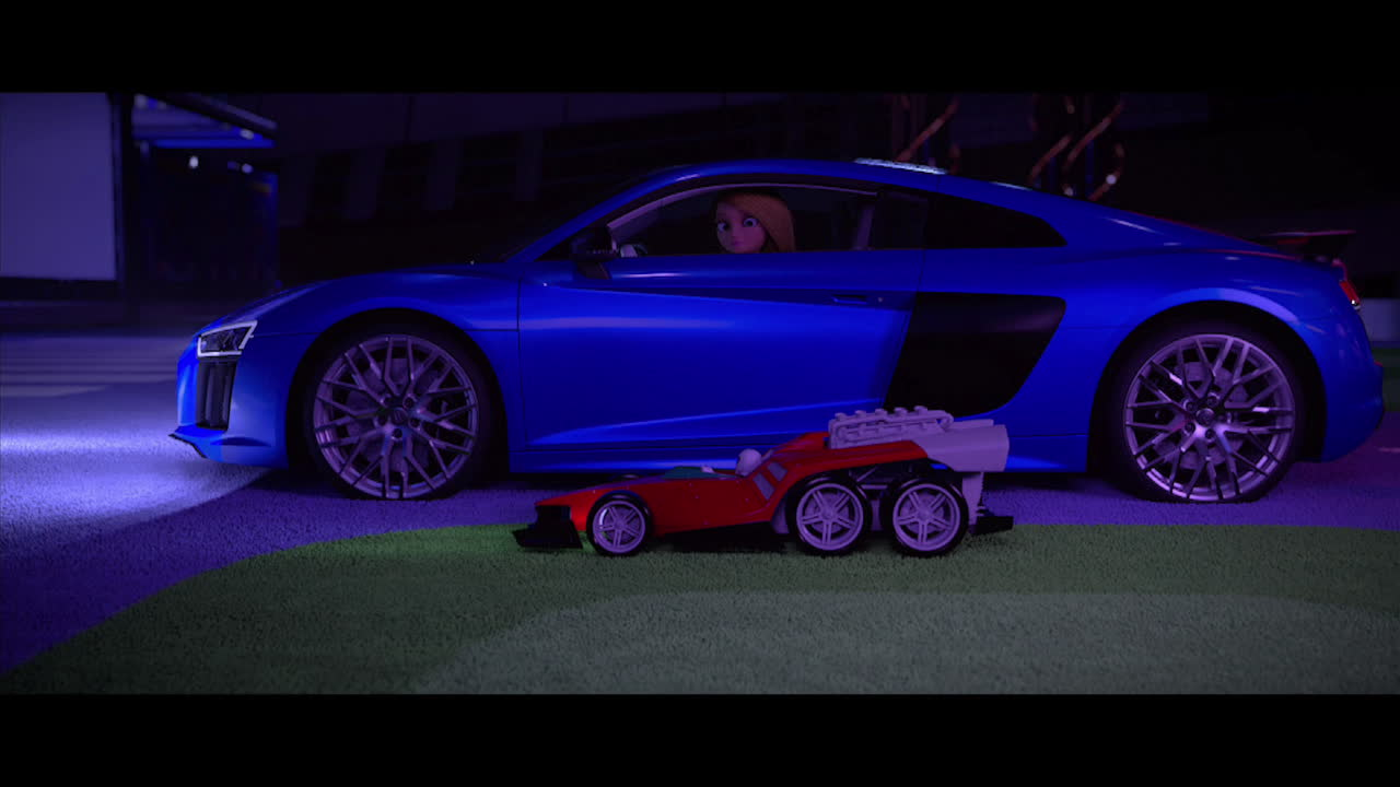 La muñeca que eligió conducir